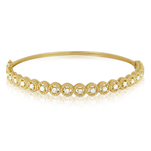 Flower Diamond Bracelet