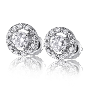 Diamond Stud Earrings 0.30ct