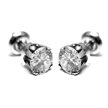 14K Gold 0.30ctw Diamond Stud Earrings
