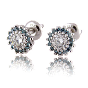 Diana Diamond Earrings