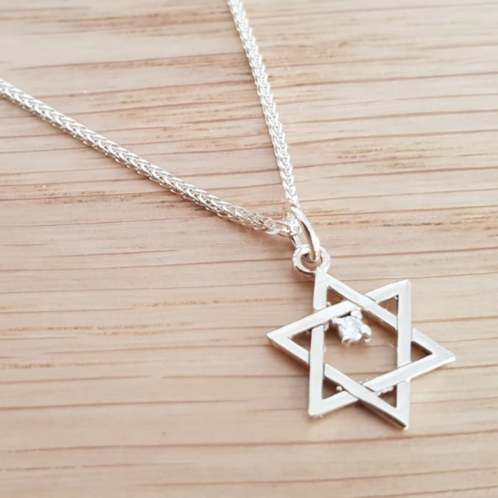 Star of David Diamond Pendant - Special Offer!