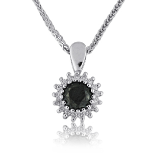 14K Gold 0.39ctw Diamond Pendant