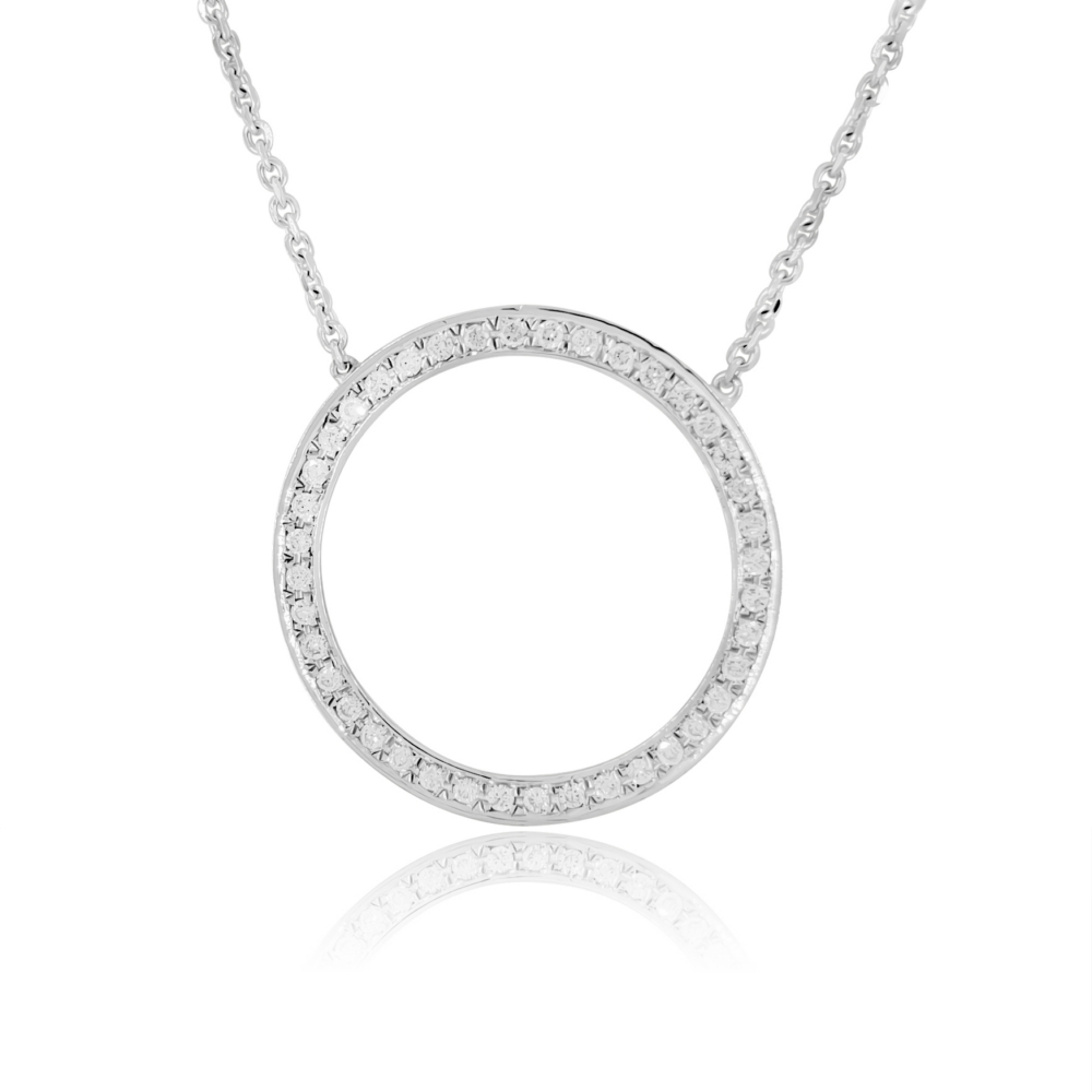 Circle Of Love Diamond Necklace