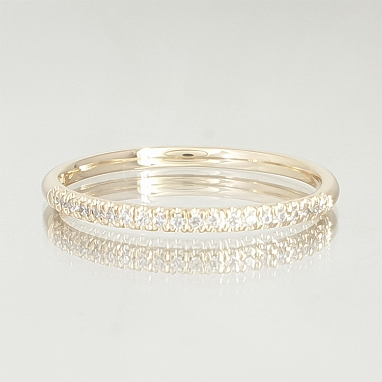Full Pear Ring-Lily style