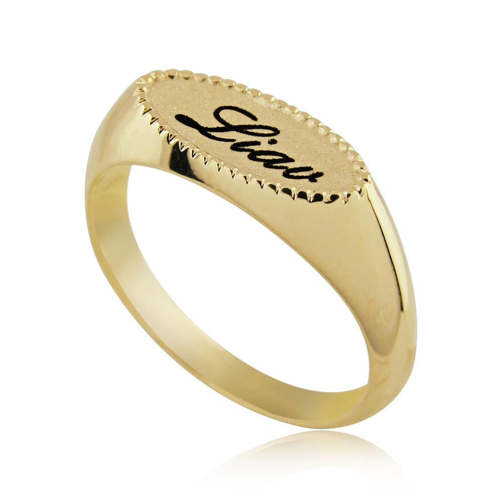 Wedding Ring With Name Models