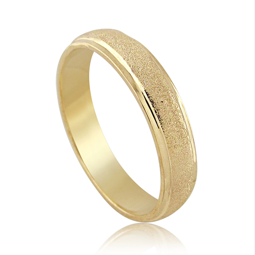 Milgrain Wedding Band Ring in 14K Gold